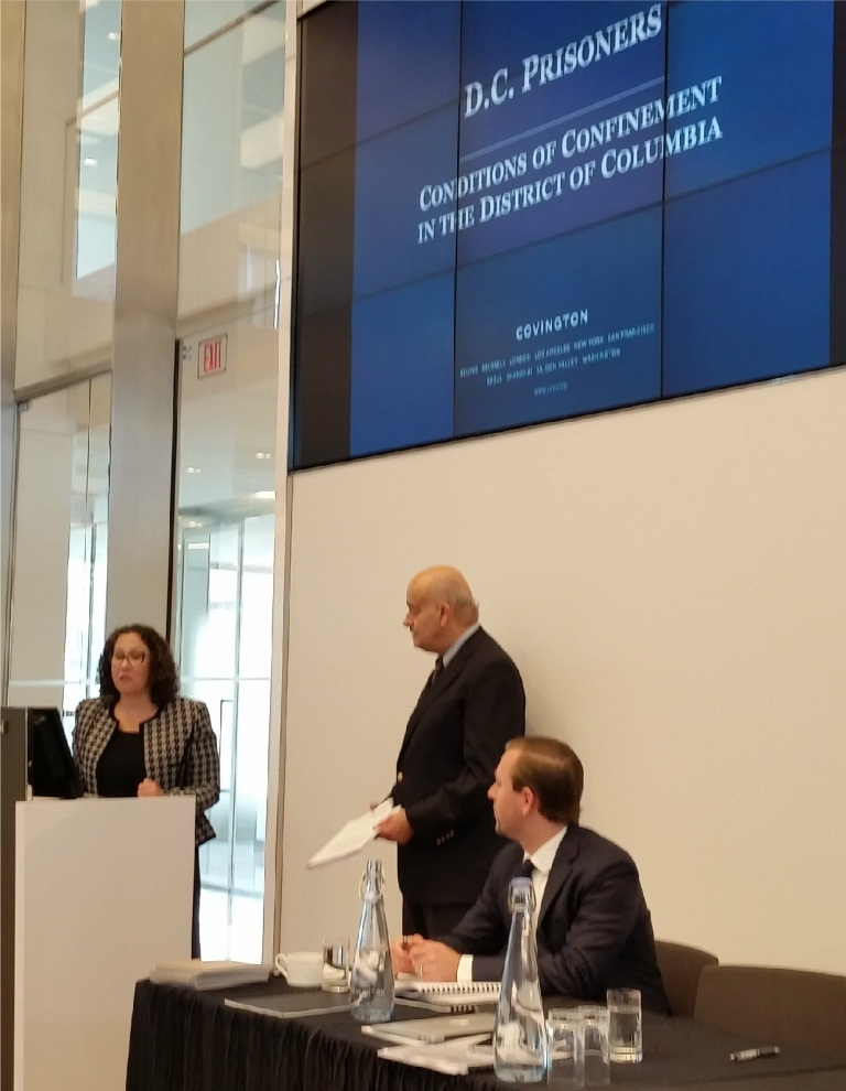 Conditions of Confinement Report Briefing at Covington  Burling LLP 6.11.15