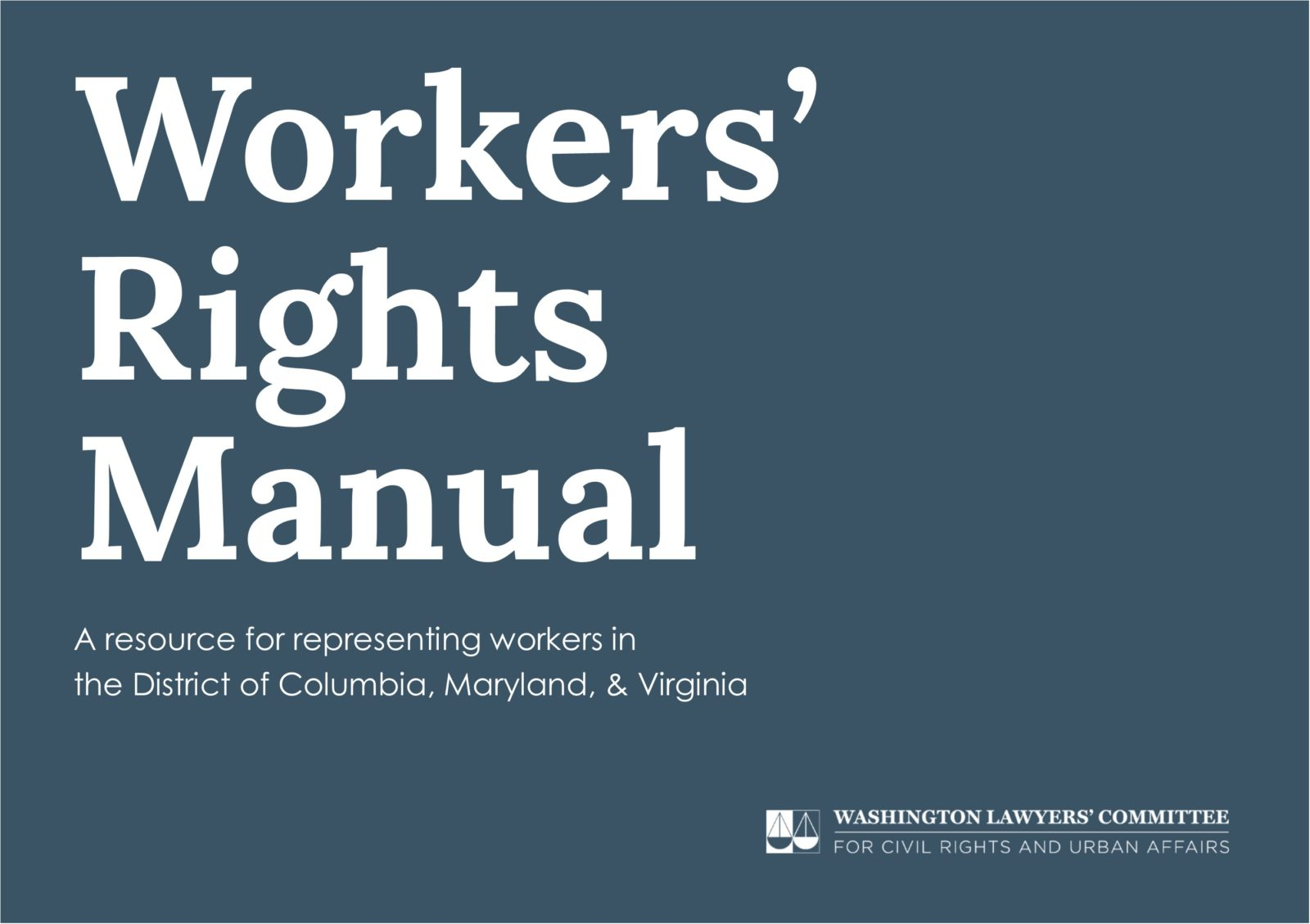 A resource for representing workers in the District of Columbia, Maryland,  & Virginia